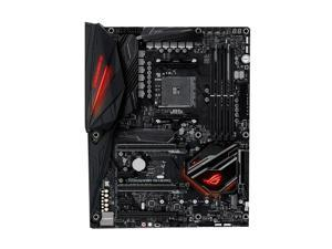 ASUS ROG CROSSHAIR VII HERO AMD Socket X470 AM4 ATX Desktop Motherboard A
