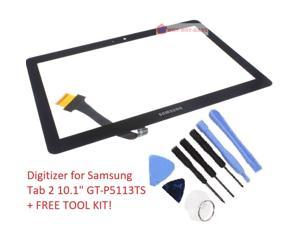 "Touch Glass screen Digitizer Replacement for Samsung Galaxy TAB 2 10.1"" GT-P5113ts with Tool Kit"