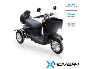 Hover-1 Rider 3-Wheel Euro Style Travel Power Electric Scooter