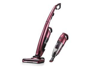 PUPPYOO WP511US Cordless Vacuum Cleaner Stick Handheld 2 in 1 for Carpet Hard Floor