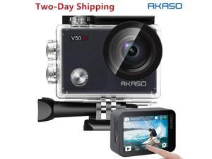 Navitech 8-in-1 Action Camera Accessories Combo Kit Compatible with The AKASO V50X Action Camera