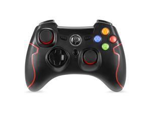 EasySMX ESM-9013 2.4G Wireless Game Controller Joysticks Dual Vibration TURBO for PS3/Android Phone Tablet/ Window PC