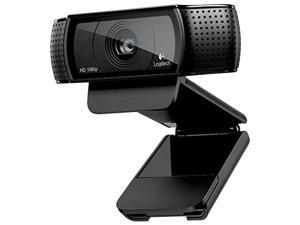 New : Logitech HD Pro Webcam C920, Widescreen Video Calling and Recording, Full HD 1080p 720p Camera ,Fast uploads with H.264, Desktop or Laptop Webcam,For Windows Mac OS Android Webcam