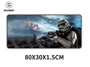 80x30x1.5cm Star Wars Gaming Mouse Pad XXL Computer Mousepad Large XL Rubber Desk Keyboard Mouse Pad Mat Gamer for Call of Duty 3 Gaming Mouse Pad 07