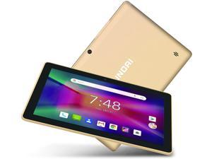 Hyundai Koral 10X3 10 inch Tablet, Android 9.0 Pie, 2 GB RAM, 32 GB Storage, Dual Camera, Quad-Core Processor, 10.1 inch IPS HD Display, Wi-Fi [Gold]