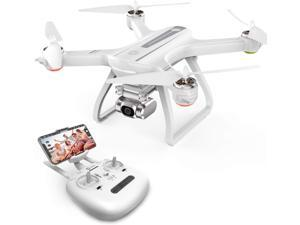 Holy Stone HS700D FPV Drone with 2K Full HD Camera and GPS Return Home Brushless Motor 5G WiFi Transmission, Color White