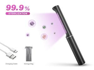 Ultraviolet UVA+UVC Disinfection Lamp Hand-Held LED UV Light Sanitizer 99.9% Sterilization