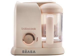 BEABA Babycook, Baby Food Maker, Steamer and Blender, Rose Gold