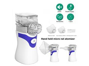 Portable Handheld Rechargeable Ultrasonic Mute Nebulizer for Children and Adults