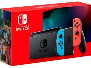 Nintendo Switch with Neon Blue & Neon Red