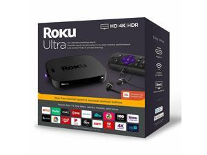 Roku Ultra 4670R 4K Streaming Media Player Device with JBL Premium Headphones