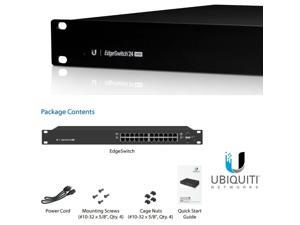 Ubiquiti Networks EdgeSwitch 24 ES-24-500W-US Managed PoE+ Gigabit Switch with SFP