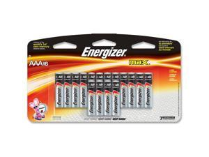 ENERGIZER Max 1.5V AAA Alkaline Battery, 16-pack