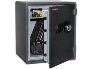 FireKing - KY1915-1GRCL - One Hour Fire and Water Safe with Combo Lock, 2.14 cu. ft., Graphite