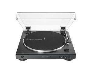 AudioTechnica AT-LP60XBT-BK Fully Automatic Belt-Drive Stereo Turntable with Bluetooth (Black)