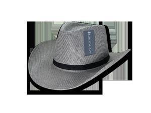Decky 539-PL-DGY-07 Paper Mesh Cowboy hat Plain ... e2f5d43129c1