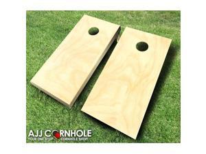 AJJCornhole 101 Plain Cornhole Set with Bags - 8 x 24 x 48 in.