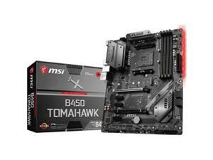 MSI B450TOMAHAWK Motherboard AMD Ryzen AM4 B450 64GB DDR4 PCIE DVI & HDMI