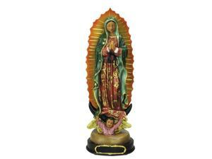 "12"" Our Lady of Guadalupe with Angel Religious Christmas Table Top Figure"