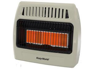 5-Plaque Dual Gas Wall Heater World Marketing Space Heaters KWD525 013204405250