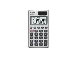 Casio HS-8VA Basic 8-Digit Solar Calculator Large Easy-To-Read