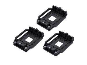 3pcs Plastic AMD CPU Fan Stand Bracket Holder Base Black  for AM2 AM3 AM2+ AM3+