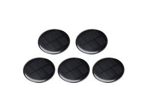 5Pcs 4V 80mA Poly Mini Round Solar Cell Panel Module for Phone Toys Charger