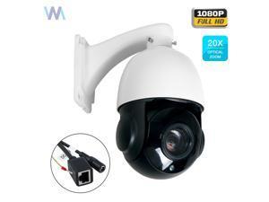 a170ff9a7e0 20X Optical Zoom HD 1080P 2MP CCTV PTZ IP Camera Outdoor Pan Tilt ...