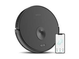 Trifo Ironpie m6 Robot Vacuum Cleaner with Visual Navigation, Remote Monitoring, 1800Pa Strong Suction, Cleaning Schedule, Self-Charging, Wi-Fi Connectivity, Ideal for Carpet and Hard Floor (Black)