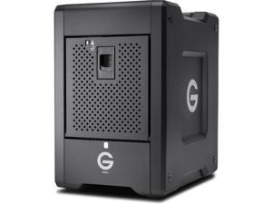 G-Technology 16TB G-SPEED Shuttle SSD with Thunderbolt 3, Transportable 8-Bay RAID Storage Solution (0G10193)