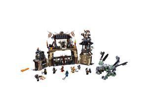 LEGO NINJAGO 70655 Dragon Pit 1660 Piece Castle Set with 9 Minifigure Characters