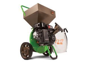 Earthquake 30520 Tazz Viper 212cc Gas Wood Chipper Shredder Mulch Bag, Green