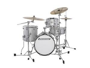 Ludwig Breakbeats by Questlove 4-Piece Shell Pack - White Sparkle