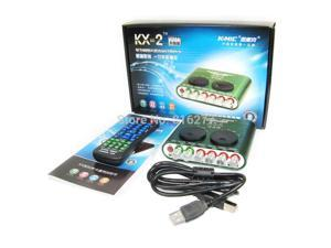 K-mic Kx-2 professional usb sound card computer external sound card 5.1 usb audio device audio interface