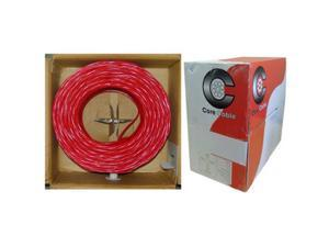 NETCNA 1000ft, Plenum Red Fire Alarm/Security Cable, 14/2 Solid, FPLP