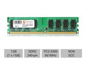 1GB DIMM Intel D945GNTLKR D945GPM D945GPMLR D945GRW D945GRWLK Ram Memory