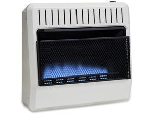 Avenger Dual Fuel Ventless Blue Flame Heater - 30,000 BTU, Model# FDT30BFA