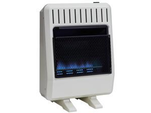 Avenger Dual Fuel Ventless Blue Flame Heater - 20,000 BTU, Model# FDT20BFA