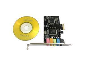 PCI-E PCI Express 6 Channel 5.1 CMI8738 Audio Sound Card PC Computer Compatible For Windows Ordinary Sound Card Extension Card