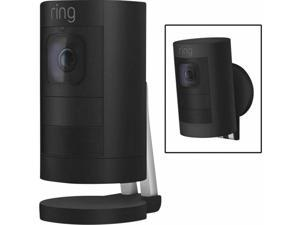 Ring Stick Up Wireless Battery Indoor and Outdoor Security Camera Black