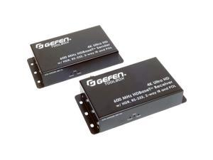 Gefen 4K Ultra Hd 600 Mhz Hdbaset Extender W/ Hdr Rs-232 2-Way Ir And Pol