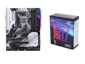 Intel Core i7-8700K Coffee Lake 6-Core 3.7 GHz (4.7 GHz Turbo) LGA 1151 (300 Series) 95W, ASUS Prime Z370-A LGA 1151 (300 ...