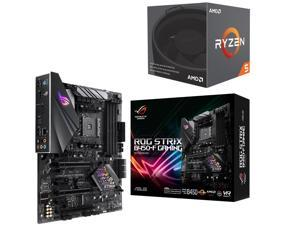 AMD RYZEN 5 2600 6-Core 3.4 GHz (3.9 GHz Max Boost) Socket AM4 65W YD2600BBAFBOX Desktop Processor, ASUS ROG STRIX B450-F ...
