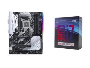 Intel Core i7-8086K Coffee Lake 6-Core 4.0 GHz Processor + ASUS Prime Z370-A LGA 1151 (300 Series) Intel Z370 HDMI SATA 6Gb/s USB 3.1 ATX Intel Motherboard