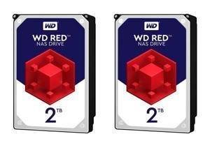 2-Pk. Western Digital WD20EFRX 3.5