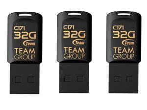 3-Pack Team C171 32GB USB 2.0 Flash Drive