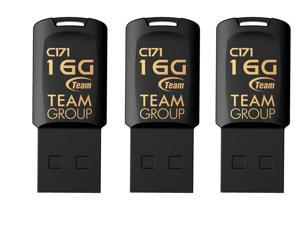 3-Pack Team C171 16GB USB 2.0 Flash Drive