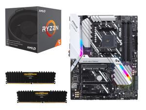 ASUS Prime X470-Pro SATA 6Gb/s USB 3.1 AMD Motherboard Bundle