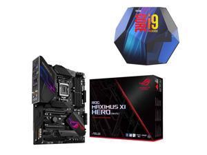 Intel Core i9-9900K Coffee Lake 8-Core 16-Thread 3.6 GHz, ASUS ROG Maximus XI Hero Z390 Gaming Motherboard