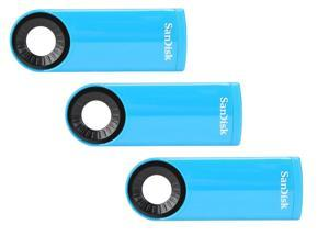 3 Pack SanDisk Cruzer Dial CZ57 32GB USB 2.0 Flash Drive
